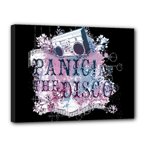 Panic At The Disco Art Canvas 16  X 12  by Samandel