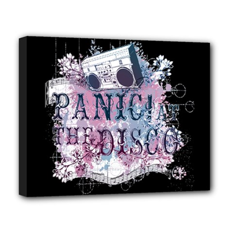 Panic At The Disco Art Deluxe Canvas 20  X 16