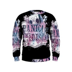 Panic At The Disco Art Kids  Sweatshirt by Samandel