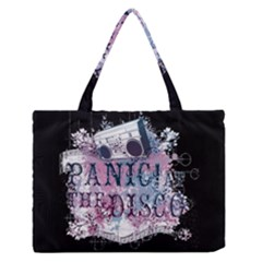 Panic At The Disco Art Zipper Medium Tote Bag