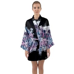Panic At The Disco Art Long Sleeve Kimono Robe