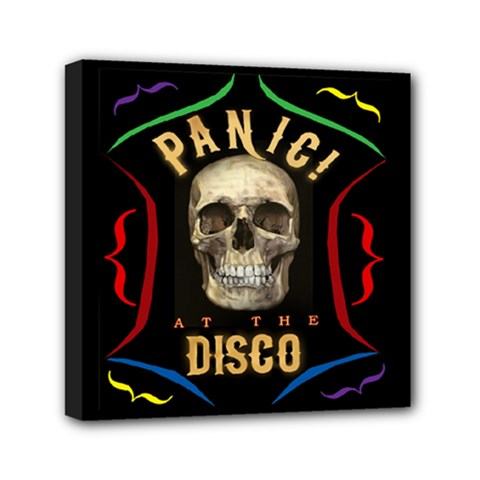Panic At The Disco Poster Canvas Travel Bag