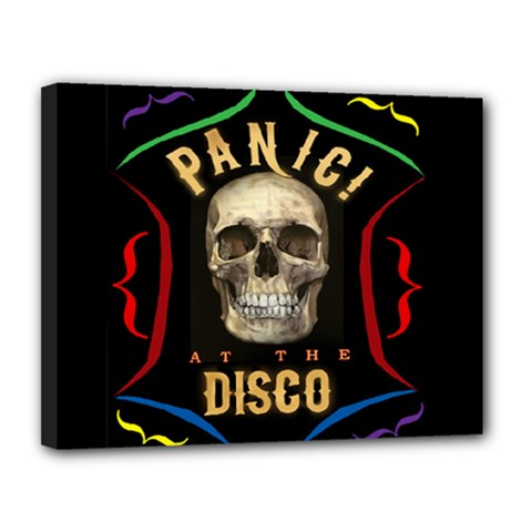 Panic At The Disco Poster Canvas 14  X 11  by Samandel