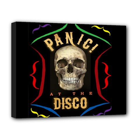 Panic At The Disco Poster Deluxe Canvas 20  X 16   by Samandel