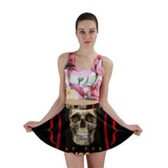 Panic At The Disco Poster Mini Skirt