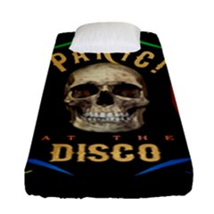 Panic At The Disco Poster Fitted Sheet (single Size) by Samandel