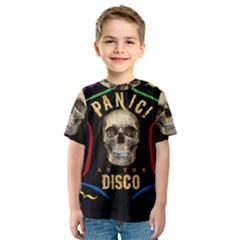 Panic At The Disco Poster Kids  Sport Mesh Tee by Samandel