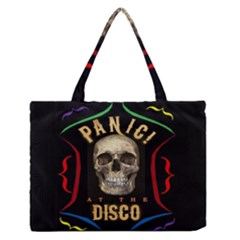 Panic At The Disco Poster Zipper Medium Tote Bag by Samandel