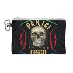 Panic At The Disco Poster Canvas Cosmetic Bag (large)