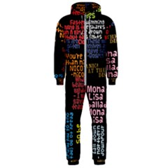 Panic At The Disco Northern Downpour Lyrics Metrolyrics Hooded Jumpsuit (men)  by Samandel