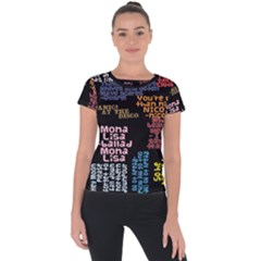 Panic At The Disco Northern Downpour Lyrics Metrolyrics Short Sleeve Sports Top