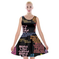 Panic At The Disco Northern Downpour Lyrics Metrolyrics Velvet Skater Dresses by Samandel