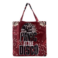 Panic At The Disco Poster Grocery Tote Bag by Samandel