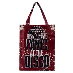 Panic At The Disco Poster Classic Tote Bag by Samandel
