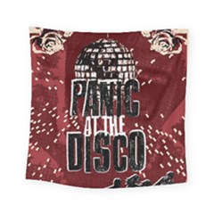 Panic At The Disco Poster Square Tapestry (small) by Samandel