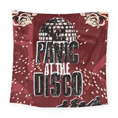 Panic At The Disco Poster Square Tapestry (large) by Samandel