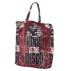 Panic At The Disco Poster Giant Grocery Zipper Tote