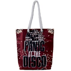 Panic At The Disco Poster Full Print Rope Handle Tote (small) by Samandel