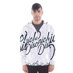 Panic At The Disco Quote Hooded Wind Breaker (men) by Samandel