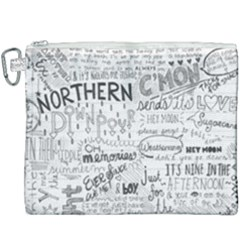 Panic At The Disco Lyrics Canvas Cosmetic Bag (xxxl)