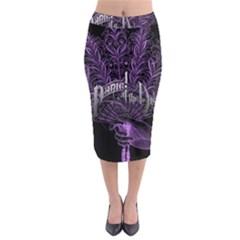 Panic At The Disco Midi Pencil Skirt by Samandel