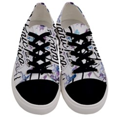 Panic! At The Disco Men s Low Top Canvas Sneakers