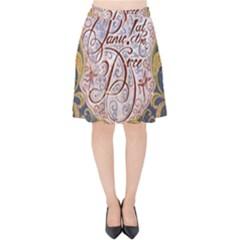 Panic! At The Disco Velvet High Waist Skirt