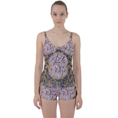 Panic! At The Disco Tie Front Two Piece Tankini