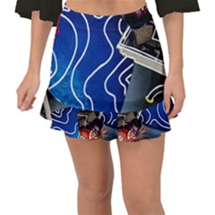 Panic! At The Disco Released Death Of A Bachelor Fishtail Mini Chiffon Skirt