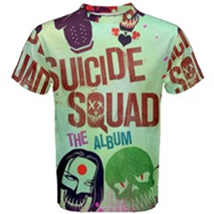 Panic! At The Disco Suicide Squad The Album Men s Cotton Tee by Samandel