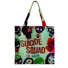 Panic! At The Disco Suicide Squad The Album Zipper Grocery Tote Bag by Samandel