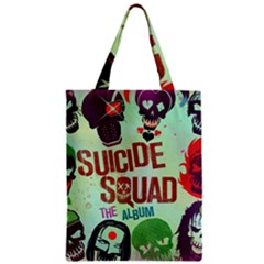 Panic! At The Disco Suicide Squad The Album Zipper Classic Tote Bag by Samandel