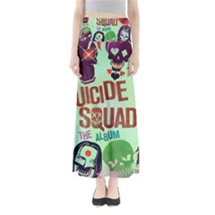 Panic! At The Disco Suicide Squad The Album Full Length Maxi Skirt