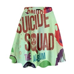 Panic! At The Disco Suicide Squad The Album High Waist Skirt by Samandel