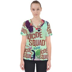 Panic! At The Disco Suicide Squad The Album Scrub Top