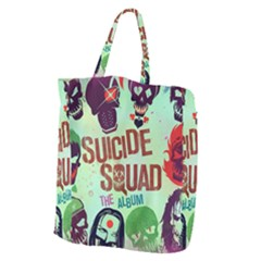 Panic! At The Disco Suicide Squad The Album Giant Grocery Zipper Tote by Samandel