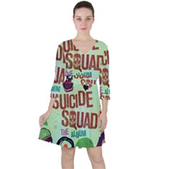 Panic! At The Disco Suicide Squad The Album Ruffle Dress by Samandel