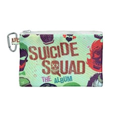 Panic! At The Disco Suicide Squad The Album Canvas Cosmetic Bag (medium) by Samandel