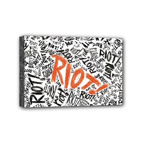 Paramore Is An American Rock Band Mini Canvas 6  X 4  by Samandel