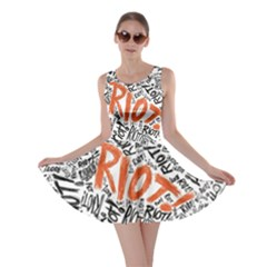 Paramore Is An American Rock Band Skater Dress by Samandel