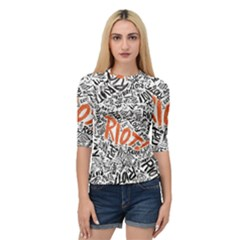 Paramore Is An American Rock Band Quarter Sleeve Raglan Tee by Samandel