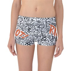 Paramore Is An American Rock Band Reversible Boyleg Bikini Bottoms by Samandel