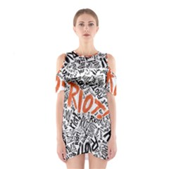 Paramore Is An American Rock Band Shoulder Cutout One Piece