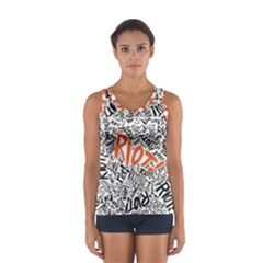 Paramore Is An American Rock Band Sport Tank Top  by Samandel