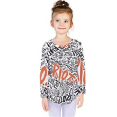 Paramore Is An American Rock Band Kids  Long Sleeve Tee by Samandel