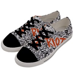 Paramore Is An American Rock Band Men s Low Top Canvas Sneakers by Samandel