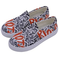 Paramore Is An American Rock Band Kids  Canvas Slip Ons by Samandel