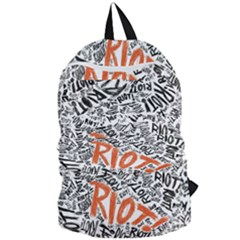 Paramore Is An American Rock Band Foldable Lightweight Backpack by Samandel