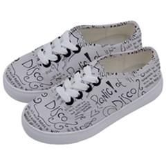 Panic! At The Disco Lyrics Kids  Classic Low Top Sneakers by Samandel
