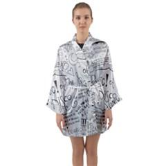 Panic! At The Disco Lyrics Long Sleeve Kimono Robe